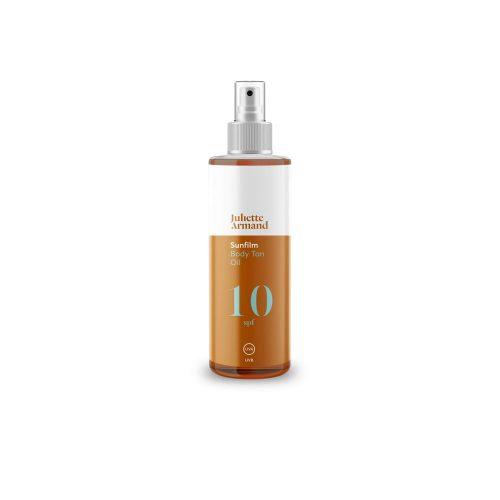 Body Tan Oil SPF 10, 200 мл Масло для тела, усиливающее интенсивность загара с защитой от солнца SPF 10
