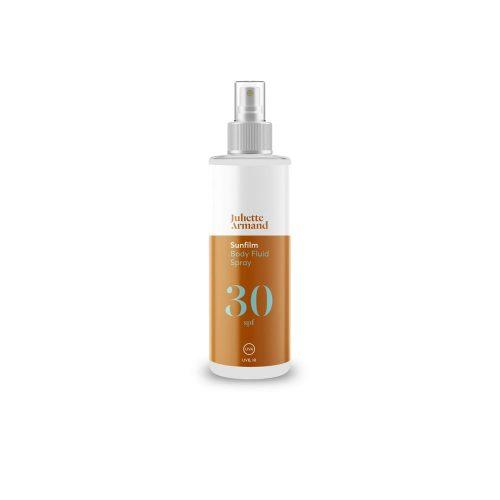 Body Fluid Spray SPF 30, 200 мл Солнцезащитная эмульсия для кожи тела в форме спрея с SPF 30