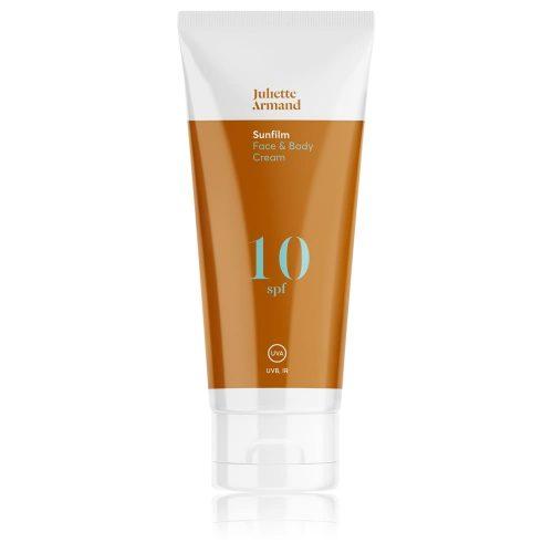 Face and Body Cream SPF 10, 200 мл Солнцезащитный крем для равномерного загара кожи лица и тела с SPF 10